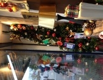 etalage kerst
